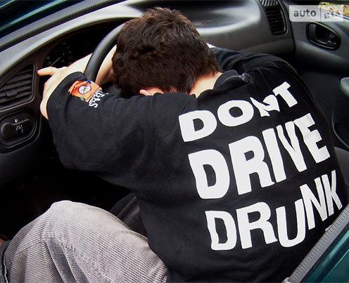 Число пьяных водителей в Украине достигло рекорда 1