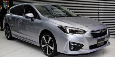 Новый Subaru оснастили «подушкой безопасности пешехода» 1