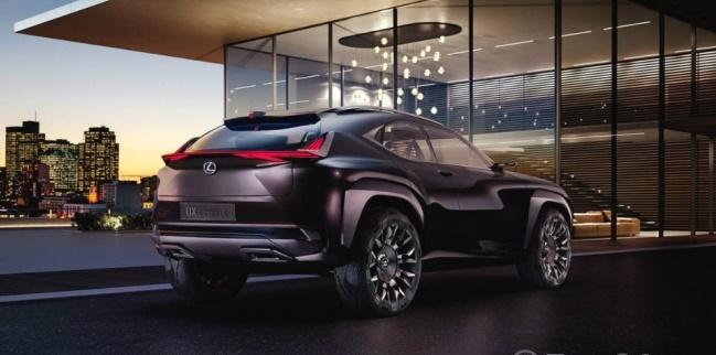 В Сеть попал первый снимок кроссовера Lexus 1