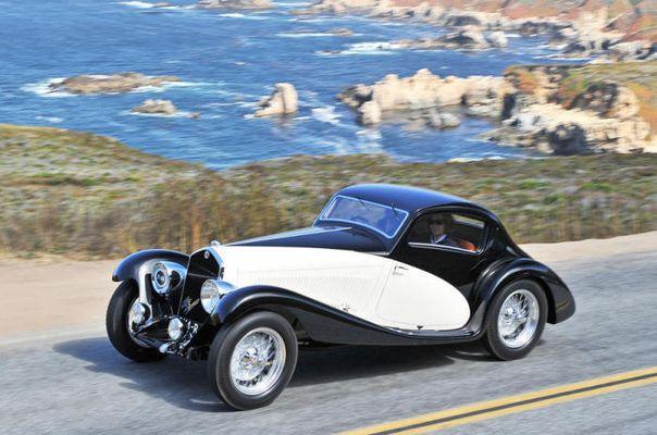 Потрясающие автомобили Конкурса элегантности 1