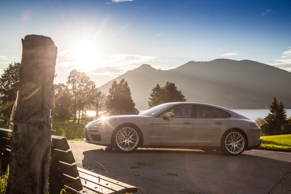 Первый универсал Porsche готов к показу 1