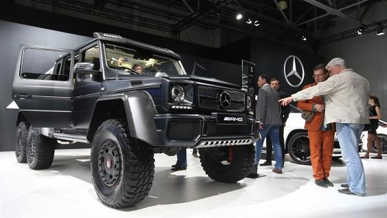 Mercedes презентует «доступный» Gelandewagen 1