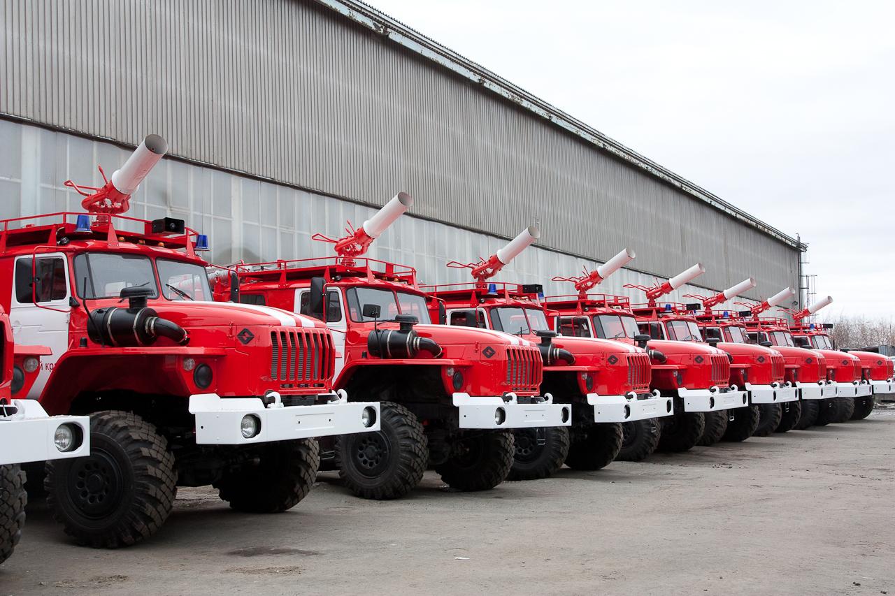 Пожарные машины в Украине подлежат списанию 1