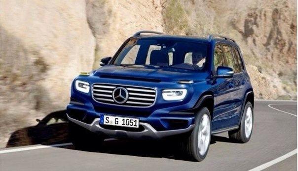 Mercedes презентует «миниатюрный» Gelandewagen 2