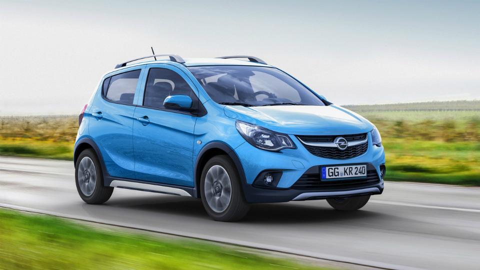 Компактный Opel стал «вседорожником» 1