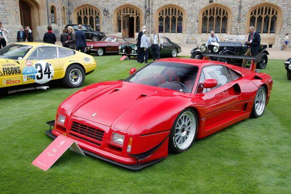 Потрясающие автомобили Конкурса элегантности 8