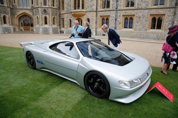Потрясающие автомобили Конкурса элегантности 9