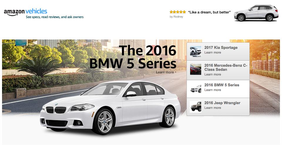 Компания Amazon будет продавать автомобили? 1