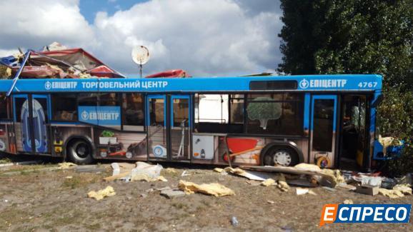 В Киеве у водителя пассажирского автобуса случился инсульт 1
