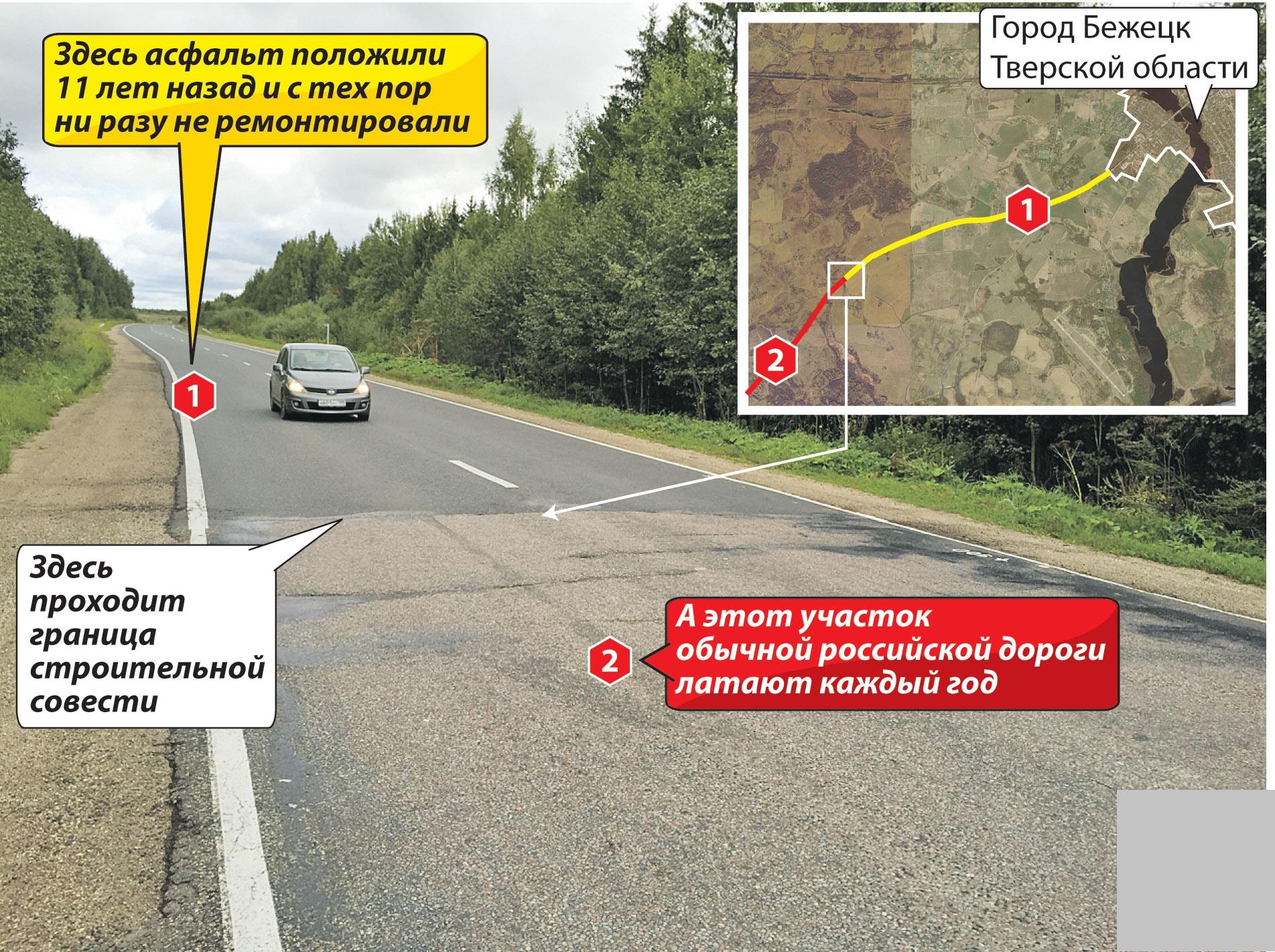 Пример, как нужно строить дороги 1