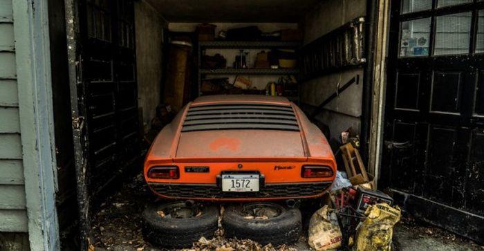 Lamborghini, который 28 лет пылился в гараже 2