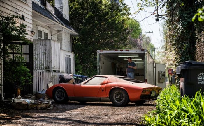 Lamborghini, который 28 лет пылился в гараже 5