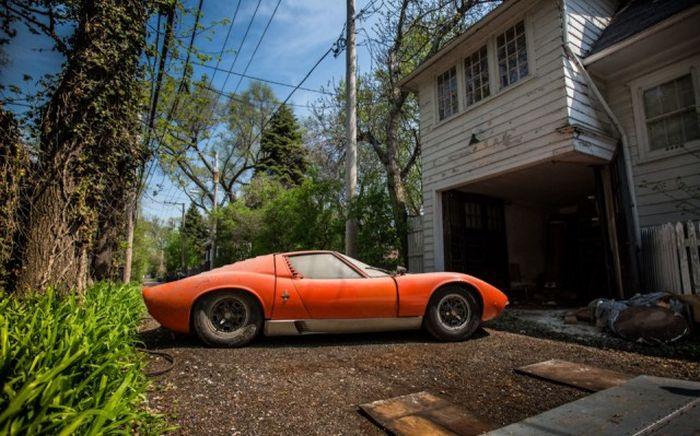 Lamborghini, который 28 лет пылился в гараже 7
