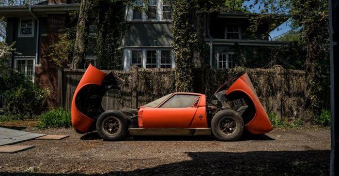 Lamborghini, который 28 лет пылился в гараже 8