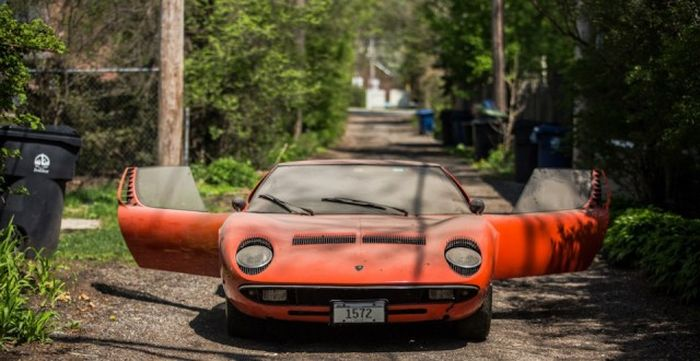 Lamborghini, который 28 лет пылился в гараже 9