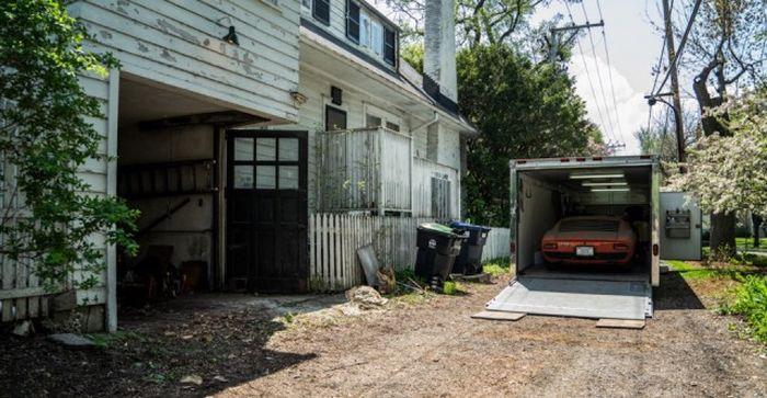 Lamborghini, который 28 лет пылился в гараже 10