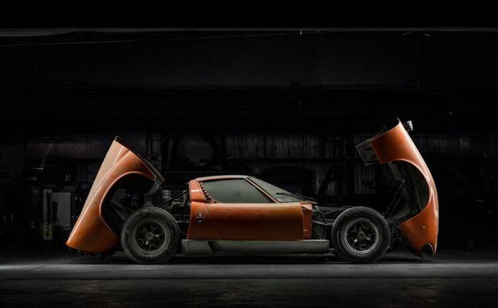 Lamborghini, который 28 лет пылился в гараже 13