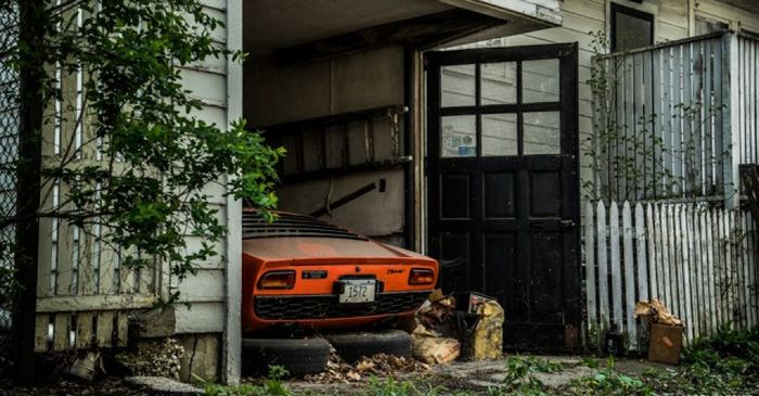 Lamborghini, который 28 лет пылился в гараже 14