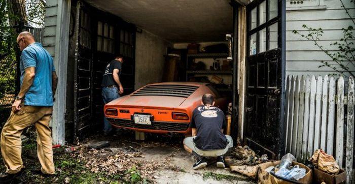 Lamborghini, который 28 лет пылился в гараже 15