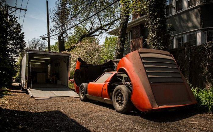 Lamborghini, который 28 лет пылился в гараже 16