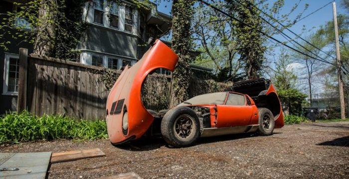 Lamborghini, который 28 лет пылился в гараже 17