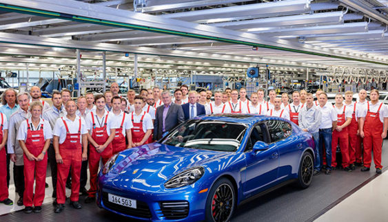 Компания Porsche завершает производство Panamera 1