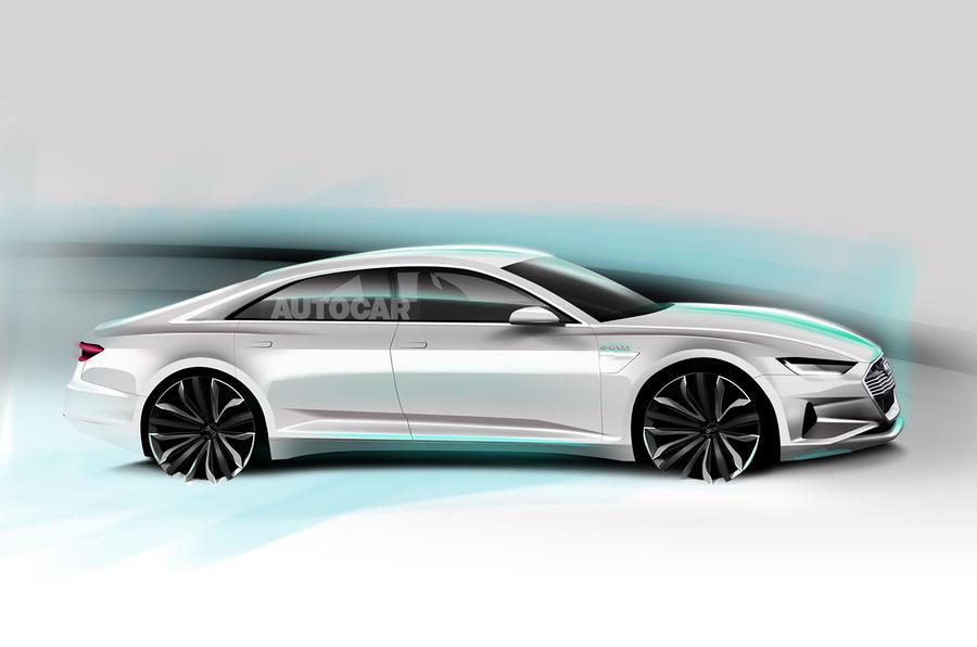 Audi готовит электрокар A9 e-tron 1