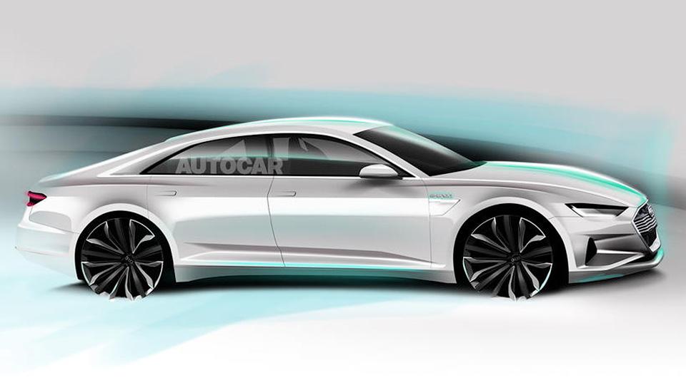 Audi презентует новую электрическую модель 1