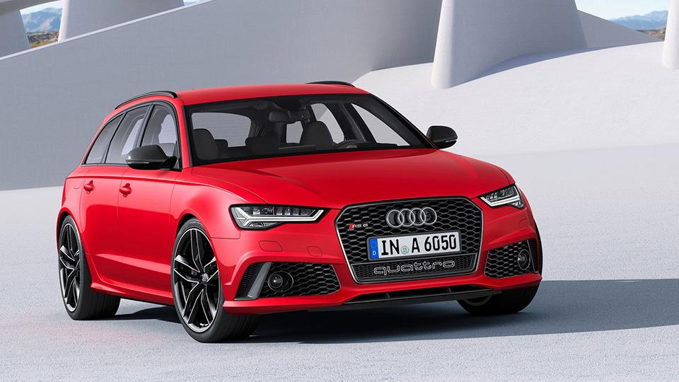 Audi презентует новый универсал 1