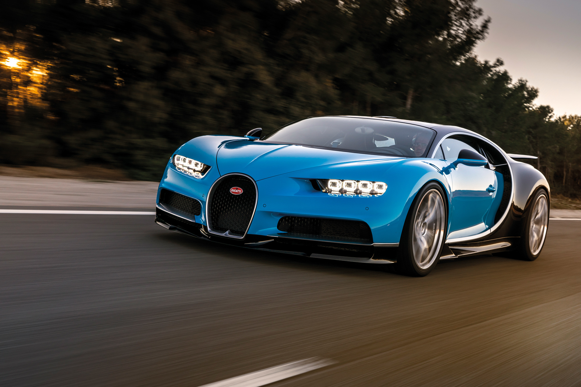 Bugatti Chiron может стать гибридом 1