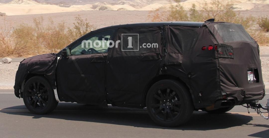 Acura тестирует новый RDX 2