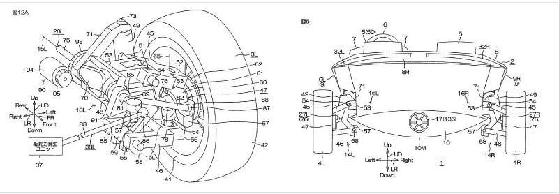 Yamaha получила патент на автомобиль-амфибию 3