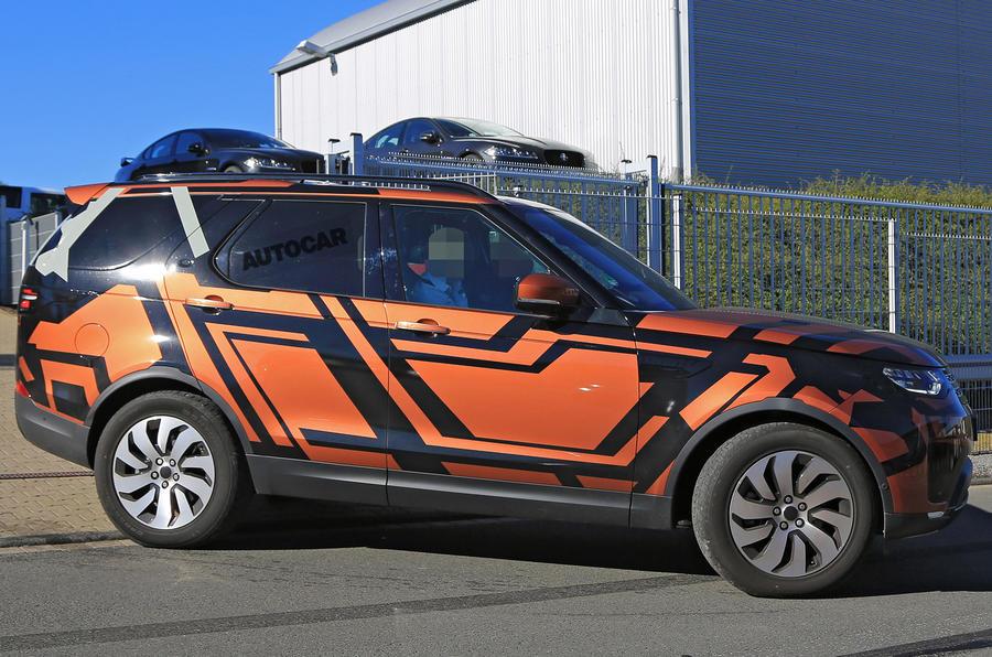 Новый Land Rover Discovery получил стильный дизайн 1