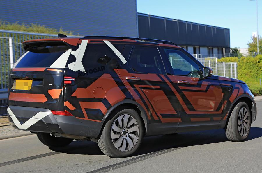 Новый Land Rover Discovery получил стильный дизайн 2