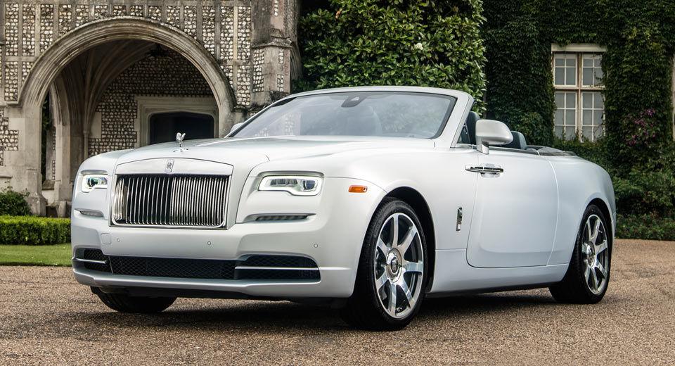 Rolls-Royce презентовал «особые» модели 1