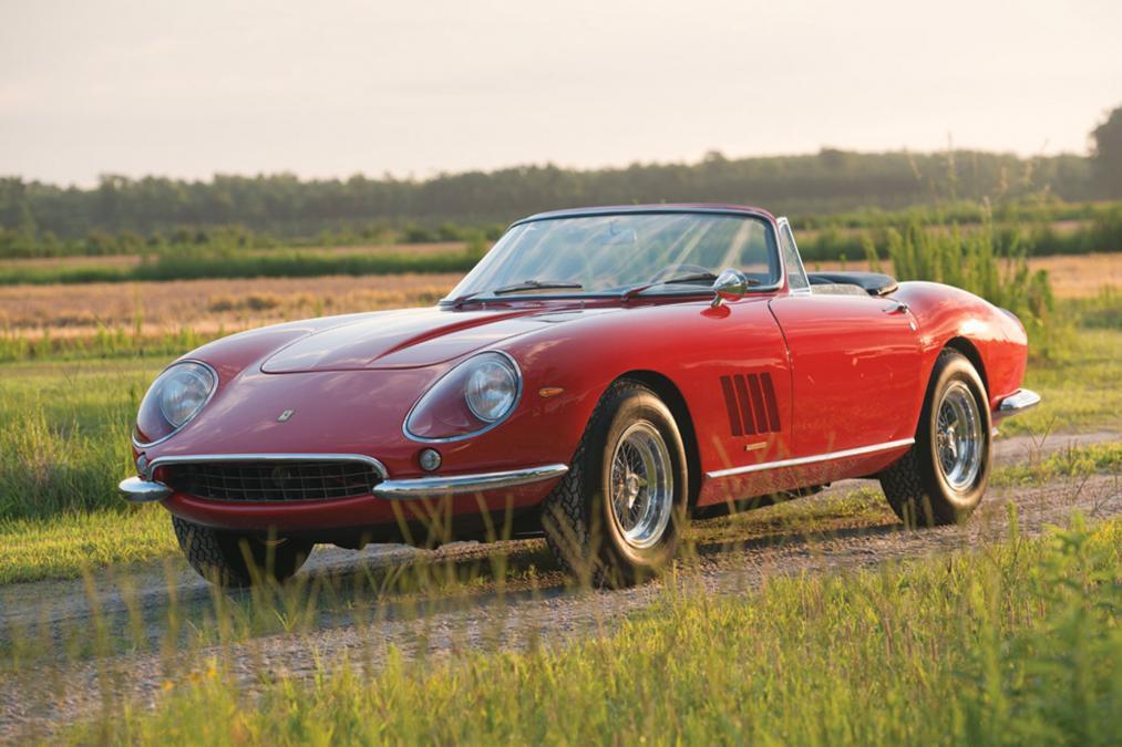 Самые дорогие машины из предложенных на аукционах 7
