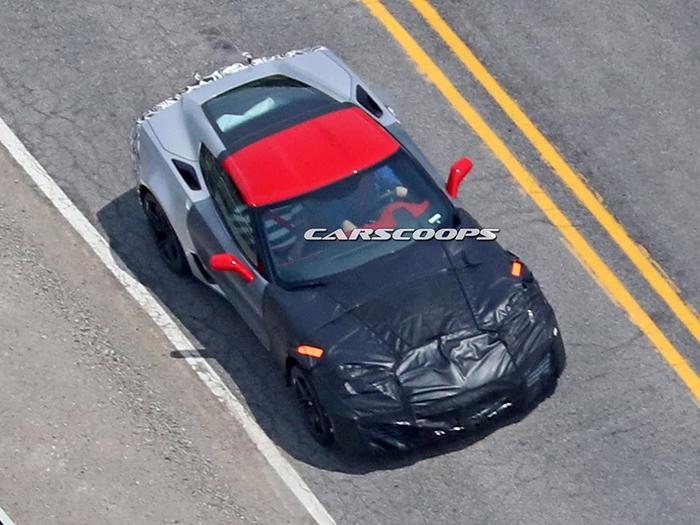 Самый мощный Chevrolet Corvette вышел на дорожные испытания 1
