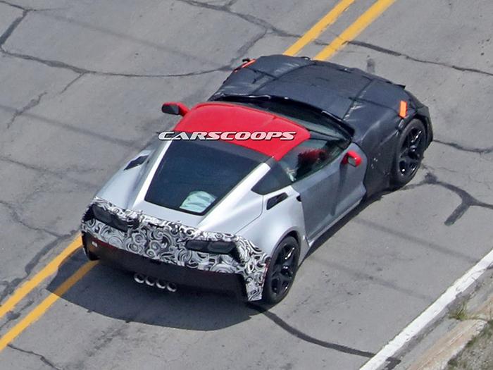 Самый мощный Chevrolet Corvette вышел на дорожные испытания 2