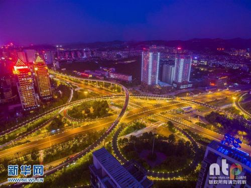 Китайцы удивили сложной пятиуровневой развязкой 2
