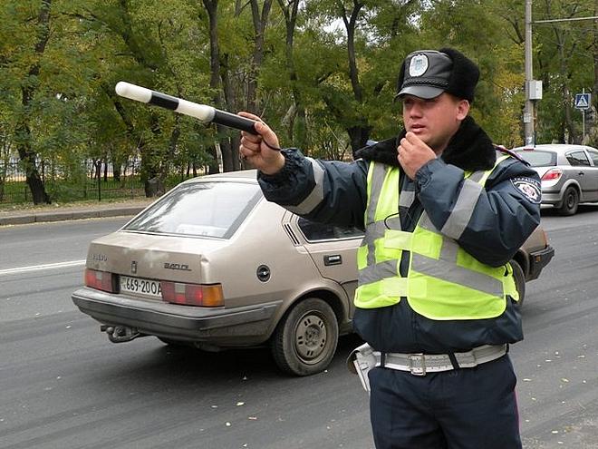 На украинские дороги возвращается ГАИ 1