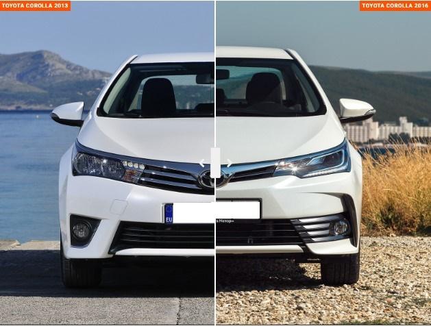 Обновлённая Toyota Corolla: «теперь почти как Camry» 1