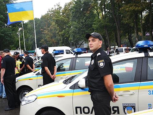 Украинских копов пересадят на ЗАЗы 2