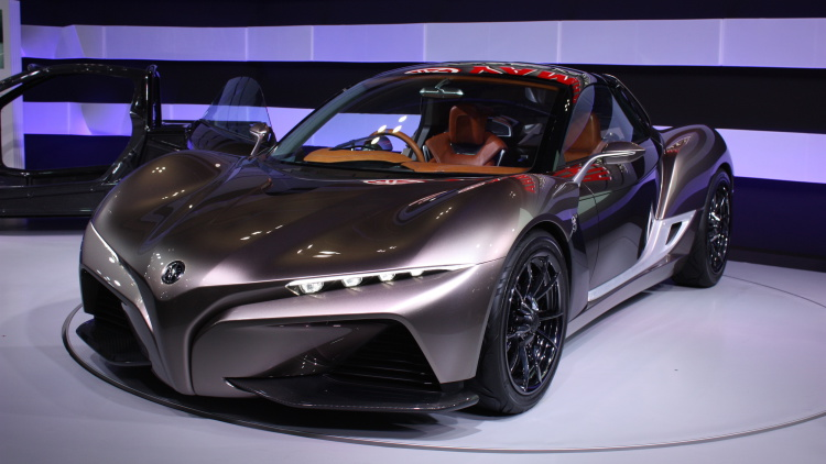 Компания Yamaha начнет производить автомобили 1