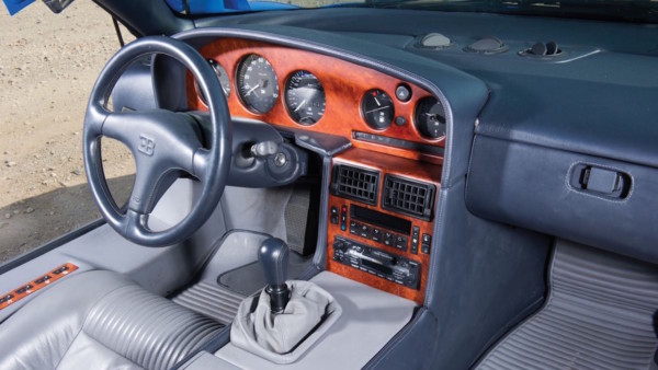Редчайший Bugatti представили на аукционе 2