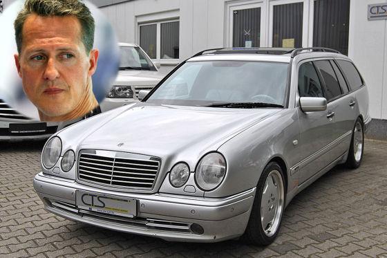 Mercedes-Benz E 55 Шумахера выставили на аукцион 1