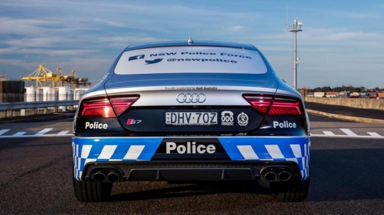 Полицейских пересадят на Audi S7 3