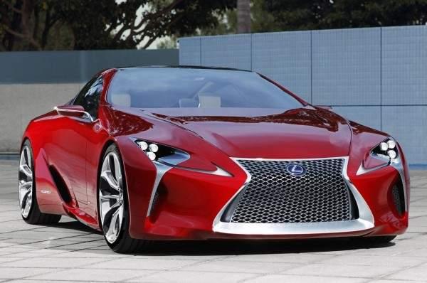Lexus представил новую двухдверку 1