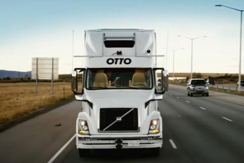 В США грузовик без водителя успешно доставил пиво 1