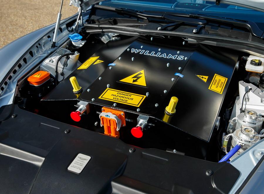 Aston Martin переведут на электротягу 2
