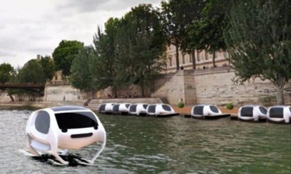 В Париже появится летающее такси 2